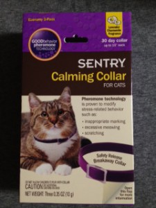 Cat anxiety solution calming collar