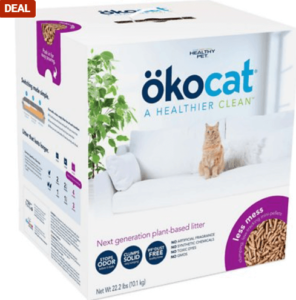 Okocat Wood Clumping Cat Litter